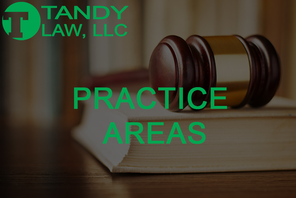 Tandy Law LLC attorney practice areas
