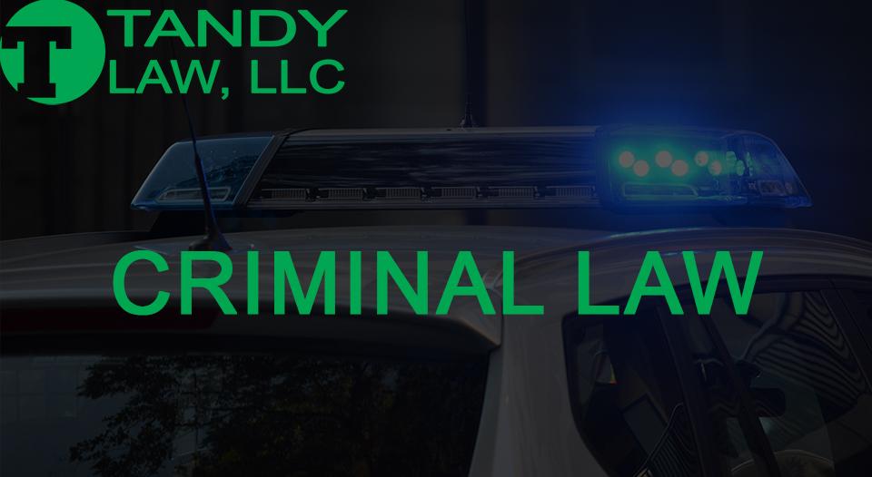 Tandy Law LLC criminal defense lawyer
