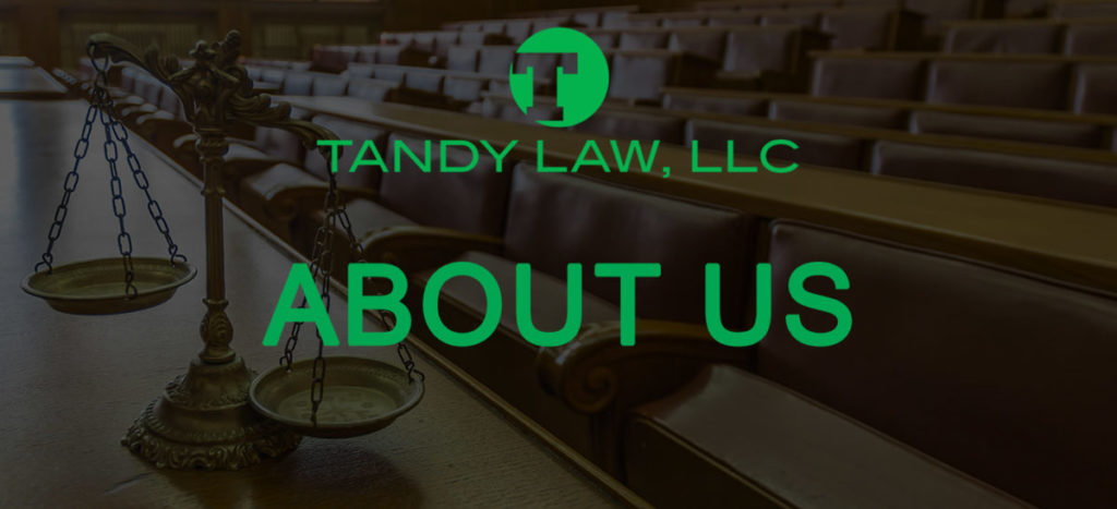 Tandy Law LLC about Jack Tandy and Tammy