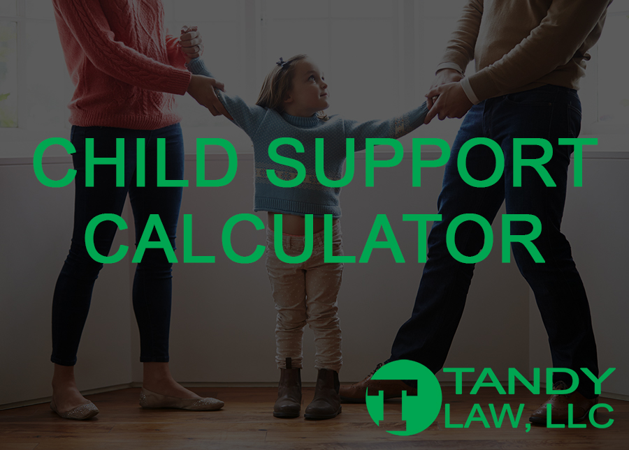 Tandy Law, LLC Child Support Calculator@0,75x